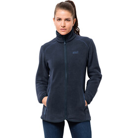 Jack Wolfskin Moonshine Altis Giacca in pile Donna, midnight blue